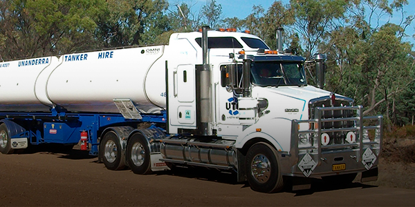 Chemical road tanker supplier Australia